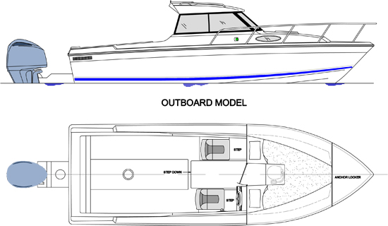 24 outboard drawing