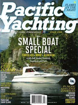 May 2014 Pacific Yachting